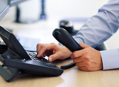 הזמנת מערכת טלפוניה