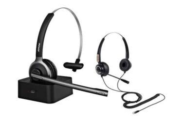 מערכות ראש / אוזניות עבור טלפוני Yealink