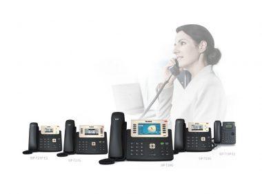 מכשירי טלפון IP לעסקים מסדרת T2